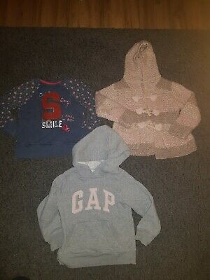 Girls Next Jumper, Hoody, Cardigan Age 3-4 Years❄Bundles Next/Gap Hoody❄