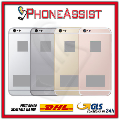 TELAIO SCOCCA POSTERIORE Per Apple iPhone 6S BACK GLASS COVER MIDDLE HOUSING
