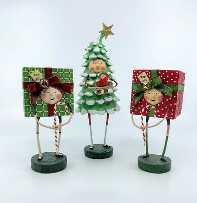 ESC Company: Lori Mitchell; Christmas, Bruce Spruce and Gift Friends Set of 3