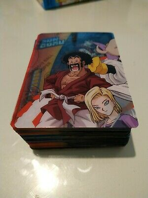 Lote 72 Cartas Dragon Ball Super Lamincards Panini