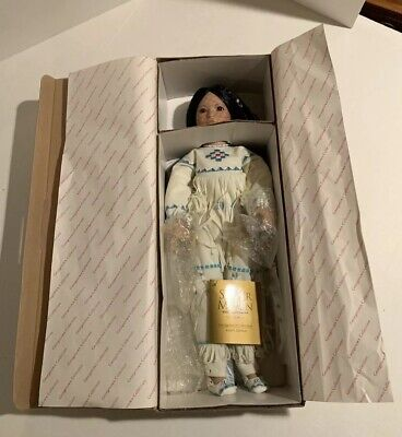Vtg 1994 New Georgetown Collection SILVER MOON by LINDA MASON Doll Unused In Box