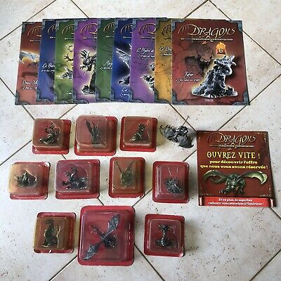 Figurines Dragons Et Creatures Fantastiques Editions Atlas