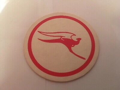 Beer Mat Coaster Quantas Collectable