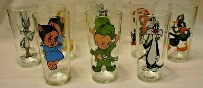 1973 Pepsi Looney Tunes Collector Glass - Pick your Character
