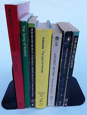 Myths and legends from Europe and the Ancient Near East. Lot of seven books.