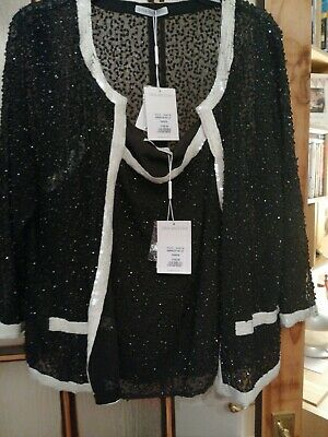 BNWT Gina Bacconi Top And Jacket Size 22 Rrp £330!!!