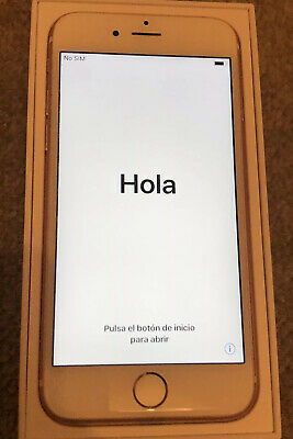 Apple Iphone 6S Plus 64gb Rose Gold O2 Immaculate Condition