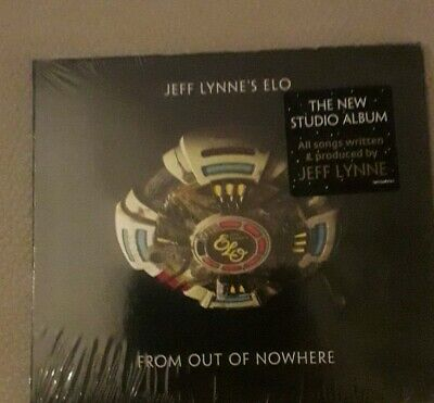 JEFF LYNNE'S ELO 'FROM OUT OF NOWHERE' Deluxe Edition CD (2019)