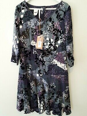 White Stuff Dress Multi Coloured Size 10 Brand New with Tags