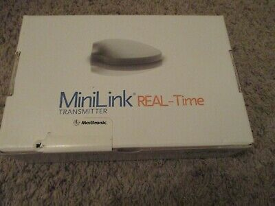 Medtronic MiniLink Real Time Transmitter New, Sealed in Box