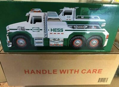 Hess 2019 Holiday Toy Truck - Rescue Team Tow Truck Brand New SOLD OUT!