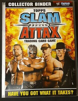 Topps Match Slam Attax Binder 200+ Cards Rare Foils Limited Editions Signed
