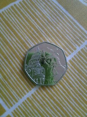 PADDINGTON BEAR 50p Coin 2019 St,Pauls - circulated