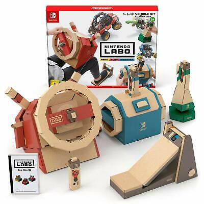 Nintendo Labo Vehicle Kit NEW SEALED DISPATCHING TODAY ALL ORDERS BY 2 PM