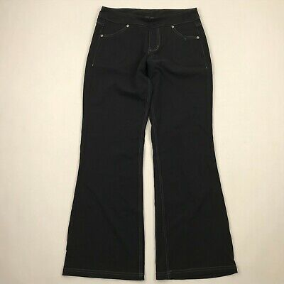 Athleta 684427 Women Black Classic Bettona Boot Cut Athletic Pants sz SP
