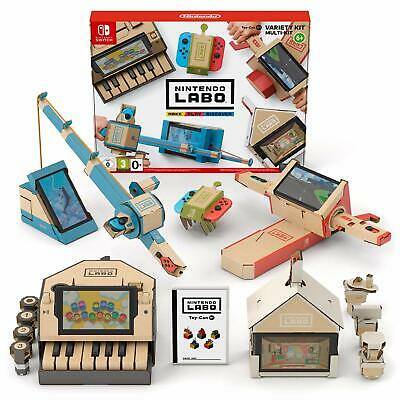 Nintendo Labo Variety Kit NEW SEALED DISPATCHING TODAY ALL ORDERS BY 2 PM