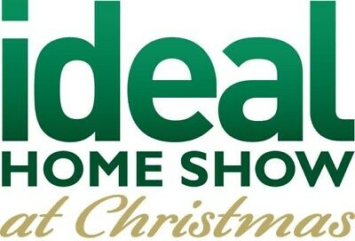 2x IDEAL HOME SHOW CHRISTMAS 2019 TICKETS VALID WED - FRIDAY 22ND NOV LONDON