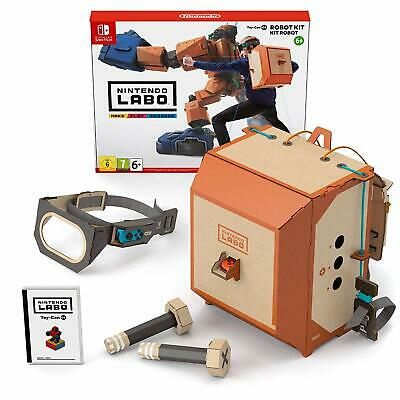 Nintendo Labo Robot Kit NEW SEALED DISPATCHING TODAY ALL ORDERS BY 2 PM