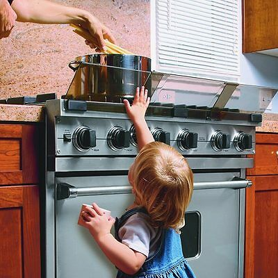 New Adjustable Stove Cooker Guard Baby Child Safety