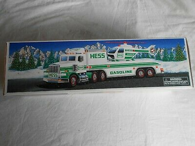 1995 Hess Toy Truck and Helicopter - NIB