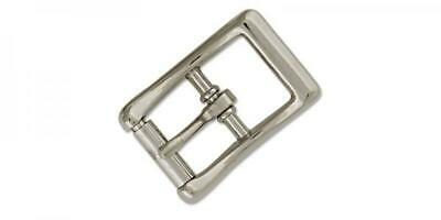 "Strap Buckle w//Locking Tongue 1/"" 2.5 cm Nickel Plated Tandy Leather 1540-10"