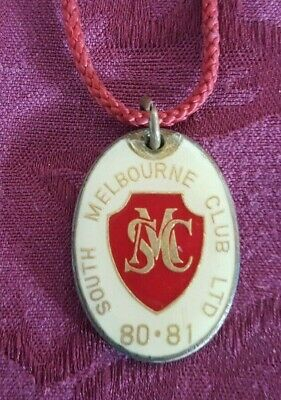Vintage South Melbourne Club Ltd Members Badge 1980-81