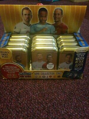 12 (Twelve) Topps Match Attax Season 2019/2020 Tins Which Equals To 540 Cards