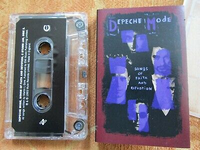 Depeche Mode Songs Of Faith And Devotion Label: Mute C STUMM 106 Cassette Album