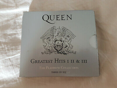 Queen ‎– Greatest Hits I II & III (The Platinum Collection) 3 x CD boxset