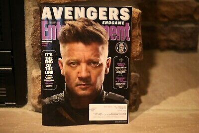NEW Entertainment Weekly Magazine April  2019 Avengers End Game Hawkeye