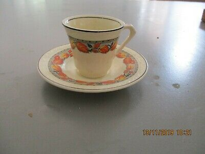 Vintage J&G Meakin Sunshine Childs Cup and Saucer  -  Very Rare