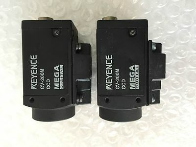1PC Used Original KEYENCE vision camera CV-200M