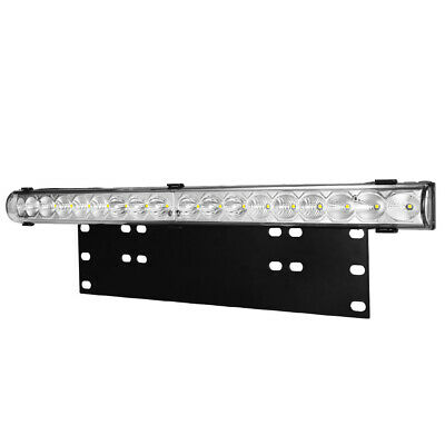 20inch LED Light Bar & Number Plate Frame Integrated 4WD Car Truck Universal fit