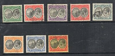Dominica Stamps 1923-33 King George V Definitives  Used