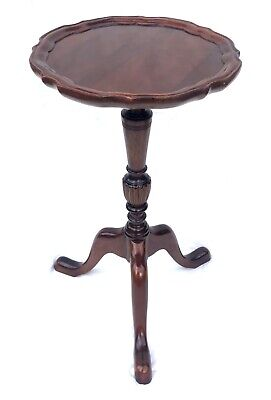 Antique Style Mahogany Wine Occasional Table Lamp Stand (a94)