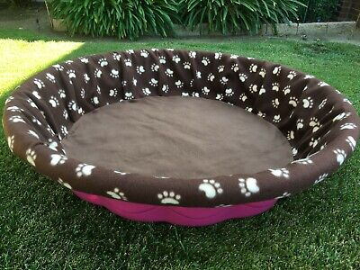 """Small Fleece Whelping Pool Box Cover for Litters - Puppies - Kiddie Pool 36"""""""