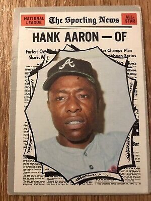 1970 Topps Hank Aaron All Star #462