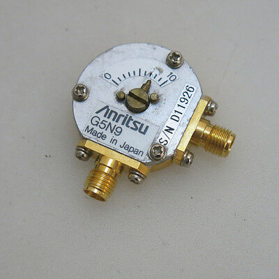 1× SV Microwave SF9700-6001 DC-18GHz 280° SMA RF Variable Phase Shifter
