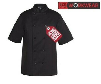 JB's WEAR  JB's VENTED S/S CHEF'S JACKET JBS 5CVS