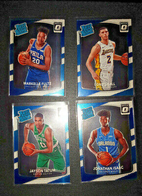 2017-18 Donruss Optic Basketball Pick Card Base Rated Rookie
