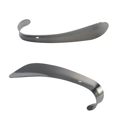 Solid Durable Shoehorn Professional Stainless Steel Shoes Lifter Wearing Tool