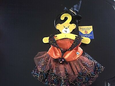 BNWT - Sequin Witch Dress And Hat Headband - Build A Bear Genuine Clothes