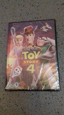 Toy Story 4 [DVD] RELEASED 21/10/2019 Sealed