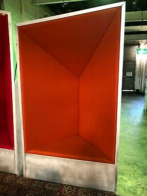 Industrial Sculptural Acoustic seating units