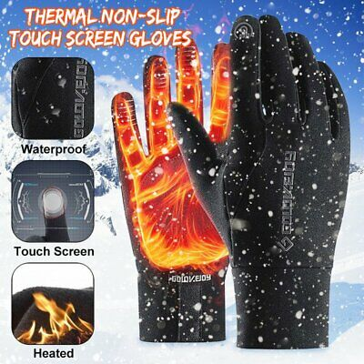 Windproof Ski Riding Sport Winter Warming Gloves Waterproof Thermal Touch Screen