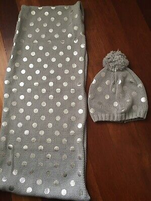Seed Scarf And Beenie Set Size M/L