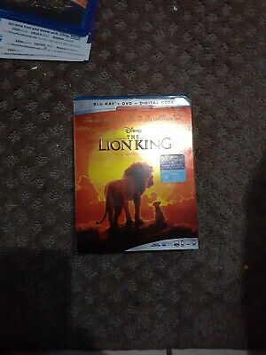 The Lion King, 2019 - Live Action (Blu-Ray + DVD + Digital Code)