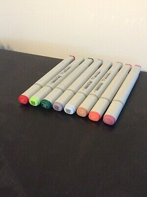 Alcoholic Markers 8 Pack Dual Sided