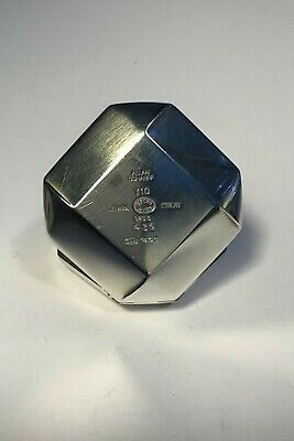 Georg Jensen Sterling Silver Pill Box No 439