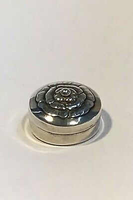 Georg Jensen Sterling Silver Pill Box No 143